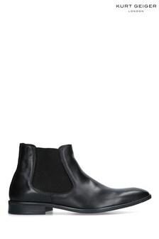 Kurt Geiger London Black Frederick Boots