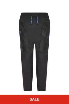 Emporio Armani Boys Black Trousers