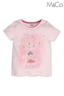 M&Co Ballerina Short Sleeve T-Shirt