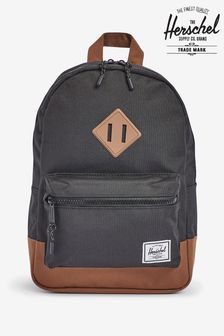 Herschel Supply Co Heritage Youth Black Backpack