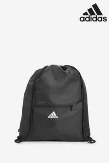 adidas 3 Stripe Drawstring Bag