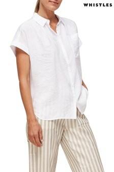 Whistles Turn Up Short Sleeve Shirt