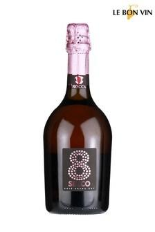9 Secco Sparkling Rosé 75cl by Le Bon Vin