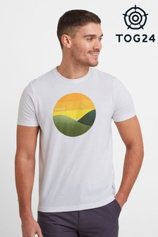 Tog 24 White Gradient Mens T-Shirt