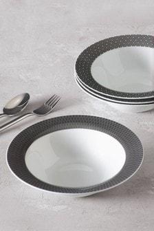 Sloane Set of 4 Pasta Bowls