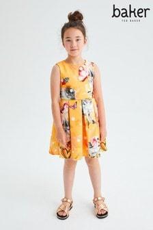 Baker by Ted Baker Yellow Scuba Dress