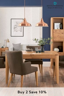High Park 4 Seater Extending Dining Table by Bentley Designs