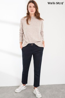 White Stuff Blue Sussex Stretch Trousers