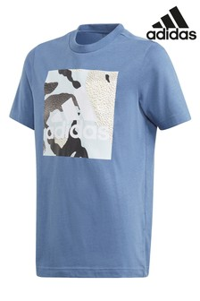 adidas Camo Box Graphic T-Shirt