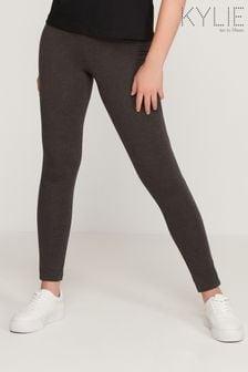Kylie Plain Grey Leggings