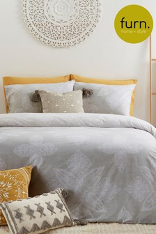Anise Duvet Cover and Pillowcase Set by Furn