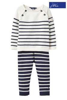 Joules Cream George Knitted Set