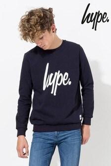 Hype. Script Kids Crew Neck Top