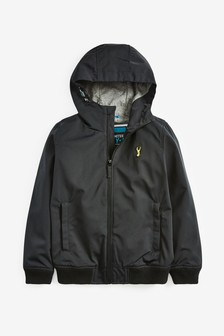 Black Bomber Jacket (3-16yrs)