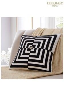 Tess Daly Op Art Cushion