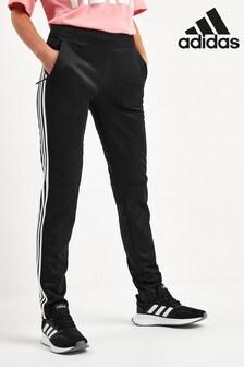 adidas Black ID 3 Stripe Joggers
