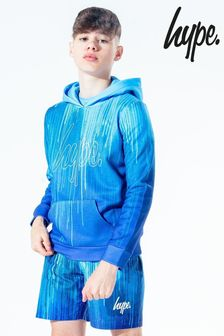 Hype. Kids Blue Drip Pullover Hoody