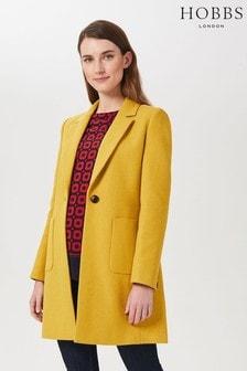 Hobbs Yellow Corina Coat