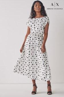 Armani Exchange Heart Dress