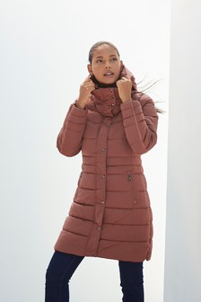Rose Pink Padded Coat