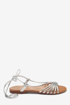 Silver Forever Comfort® Ghillie Sandals
