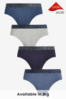 Blue Briefs Four Pack