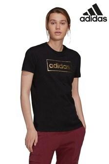 adidas Metallic Logo T-Shirt