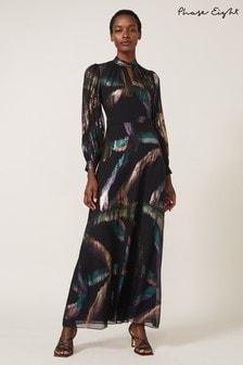 Phase Eight Multi Kaylani Silk Jacquard Dress