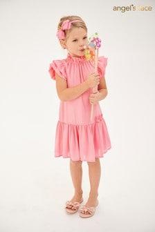 Angel's Face Pink Flick Dress