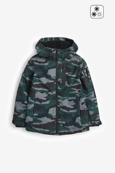 Camouflage Fully Waterproof Anorak (3-16yrs)