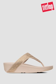 FitFlop™ Lottie Shimmercrystal Toe Post Sandals