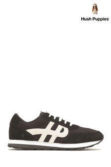Hush Puppies Black Seventy8 Shoes
