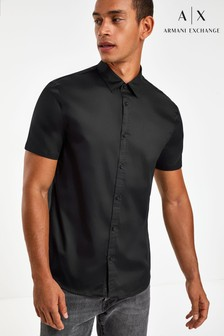 Armani Exchange Logo Placket Shirt