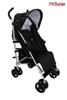My Babiie MB01 Black Marble Stroller