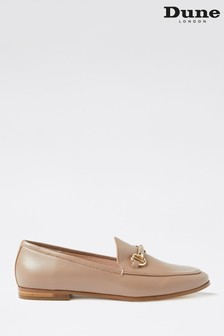 Dune London Guiltt 2 Taupe Leather Snaffle Loafers