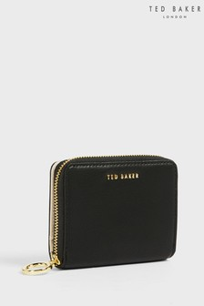 Ted Baker Black Deleena Colourblock Small Bifold Purse