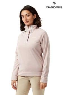 Craghoppers Pink Helena Half Zip Fleece
