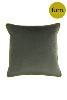 Gemini Double Piped Edge Cushion by Furn