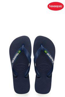 Havaianas® Mens Brasil Logo Flip Flops
