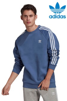 adidas Originals 3 Stripe Sweat Top