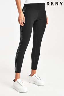 DKNY Black Tapered Leggings