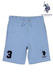 U.S. Polo Assn Blueplayer 3 Sweat Shorts