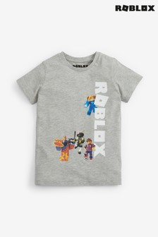Grey Roblox T-Shirt (3-15yrs)