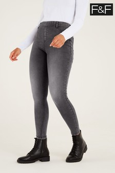 F&F Grey Jeggings