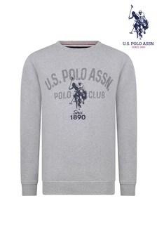 U.S. Polo Assn. Dotty Graphic Crew Sweatshirt
