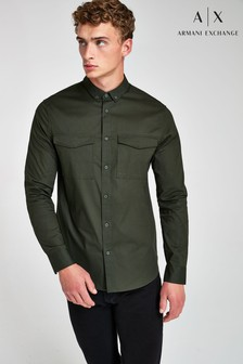 Armani Exchange Military Shirt