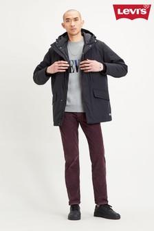 Black Levi's® Mens Woodside Utility Parka Coat