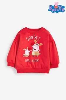 Red Peppa Pig™ Christmas Sweatshirt (3mths-7yrs)