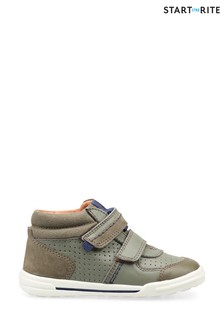 Start-Rite Frisbee Khaki Nubuck/Leather Shoes