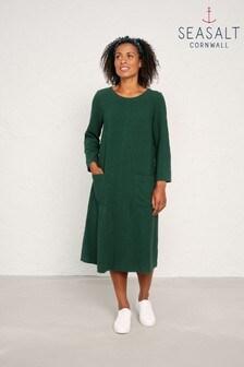 Seasalt Green Dark Forage Peak Harvest Dress
